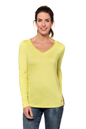Marškinėliai V formos apykakle