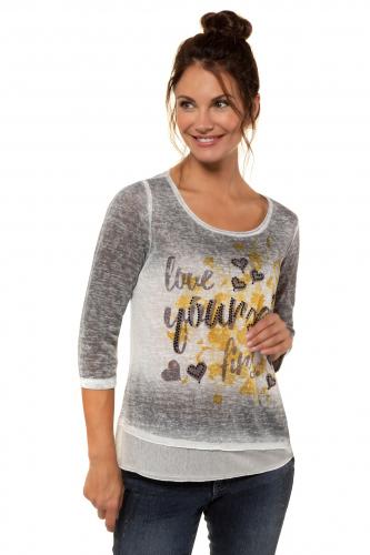 Marškinėliai A formos 3/4 rankovėmis