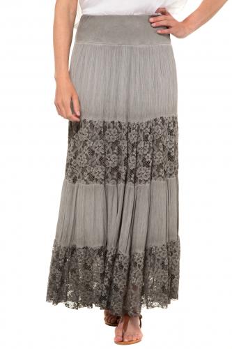 Ilgas sijonas su neriniais