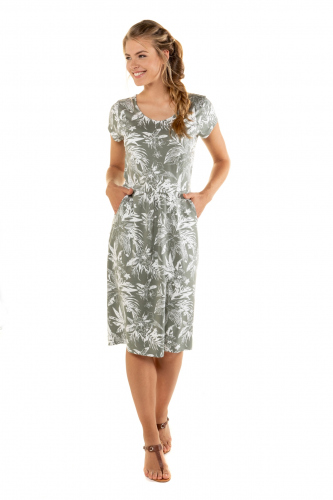 Suknelė V formos apykaklė
