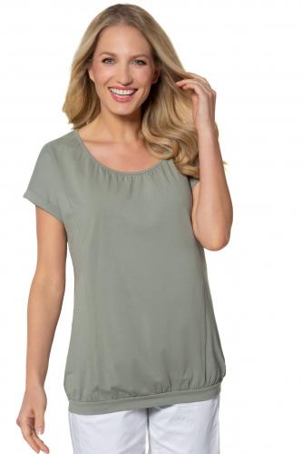 """Marškinėliai  padidinti """"oversized"""" su išryškintomis siūlėmis"""
