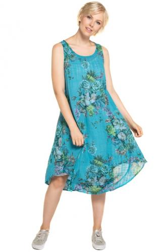 Suknelė gėlėta