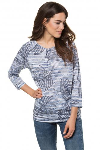 """Marškinėliai padidinti """"oversized"""" palmių lapais"""
